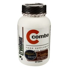 Treelains C Combo dengan vitamin B Complex & Echinacea - 60 Tablet - 300 mg