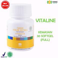 VITALINE Nutrisi kulit PEMUTIH TUBUH & WAJAH ( Vitaline 30 kaps )PROMO