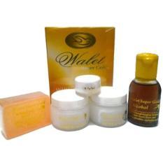 Walet Premium Super Gold Whitening & Anti Aging Pot White Kualitas Super