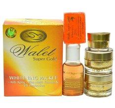 Walet Super Gold Whitening Packet - Memperbaiki Warna Kulit