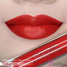 Wardah Exclusive Matte Lip Cream 06 - Feeling Red