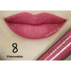 Wardah Exclusive Matte Lip Cream - 08 Pink Credible