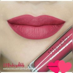 Wardah Exclusive Matte Lip Cream 09 Mauve On