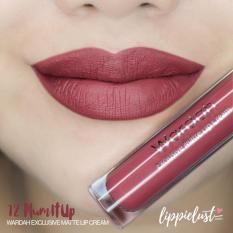 Wardah Exclusive Matte Lip Cream 12 Plum It Up