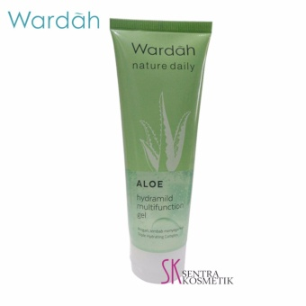 Wardah Hydrating Aloe Vera Gel - Hydramild Multifunction Gel - 100 ml