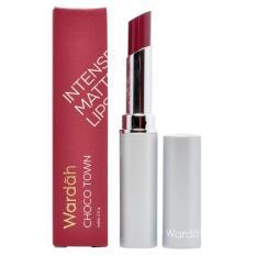Wardah Intense Matte Lipstick 11 Choco Town