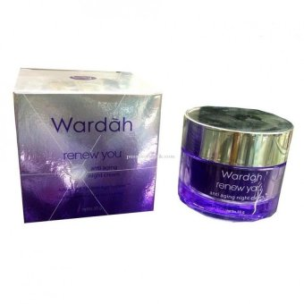 Wardah Renew You Anti Aging night cream 30gr | Lazada
