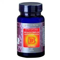 Wellness Mega B Complex 30's
