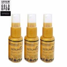 Whitening Serum Gold Original - Serum Pemutih Wajah - 3 Botol
