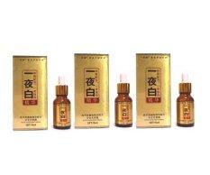 Whitening Serum Gold - White Night Magic Korea - Paket 1 Bulan - 3 Buah