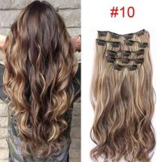 HAIR EXTENSION PERPANJANGAN Best Quality Source · Rambut Model Klip Clip Wigs Long .