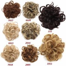 ... Sintetis Wanita Hair Scrunchie Bun Sanggul Source Cari Harga Rambut Palsu Scarlet 2017 Source Wanita Bun
