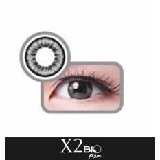 X2 Exoticon Black Softlens / Contact Lens - Black