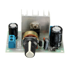 6-24V LM317 AC / DC To DC Adjustable Voltage Regulator Step-down Power Module - Intl