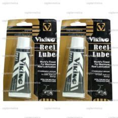 2pcs Viking Reel Lube Pelumas Minyak Oli Pelicin Gears Shafts Bearings Joran Senar Pancing Nilon Tali