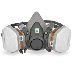 7-in-1 memenuhi setengah wajah masker Gas cat semprot alat pernafasan untuk 6200 N95 alat pernafasan (3M)