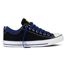 Converse Chuck Taylor All Star Dual Collar Ox Sneakers Mens Chuck Size - Black/Radio Blue