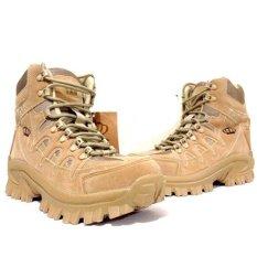 Dbest Kudastore Sepatu Boot Hiking Tag Tactical Import - Cream