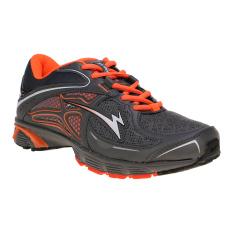 Eagle Striker Sepatu Lari - Dark Grey-Orange