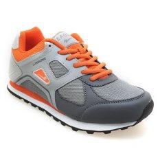 Eagle Ultrasonic Sepatu Jogging - Oranye-Light Grey-Dark Grey
