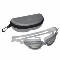 EELIC KAR-588 ABU-ABU Kacamata Renang Dengan Penutup Telinga