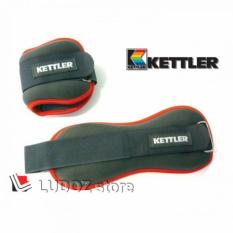 FOOT BAND 2x 1.0 Kg (2 Kg/Pair) KETTLER Pemberat Kaki Ankle Engkel Weighted Bands