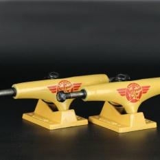 Hot Durable 2pcs/pair 5 Inches Aluminum Bridge Professional Universal Skateboard Truck Bracket - intl