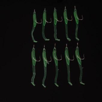 Gracefulvara Philippines Gracefulvara Lures & Baits for sale Source Harga 10Pcs Luminous Eel Fishing Lures Rubber