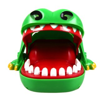Anak Permainan Hadiah Source Buaya besar mulut gigi menggigit jari permainan lucu hadiah .