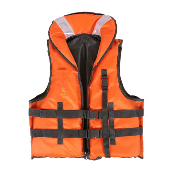 Harga LIXADA Professional Polyester Adult Safety Life Jacket Survival Vest Swimming Boating Drifting .