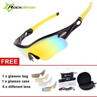 RockBros Kacamata Sepeda Polarized / Cycling MTB Driving Fishing Glasses Outdoor Sports Sunglasses