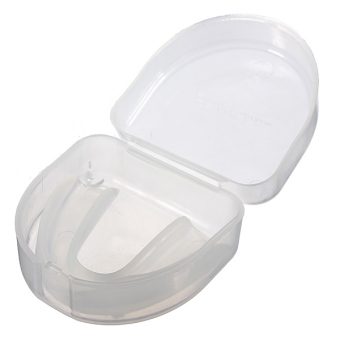 Sports Mouthguard Mouth Guard Teeth Protecter Shield for Boxing MMA Basketball Clear (Intl) ...