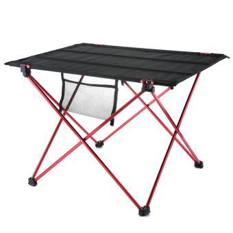 Harga Terbaru leegoal Folding Camping Table Ultralight Portable Hiking Picnic Mountaineering Table With Carrying Bag,