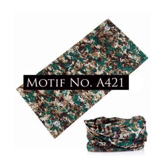 KMBuff Masker Serbaguna Motif ArmyLoreng A421. >>>>