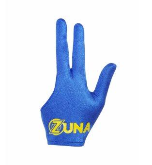 Zuna Sport Unisex Basic Zuna Billiard Gloves Full Finger Blue