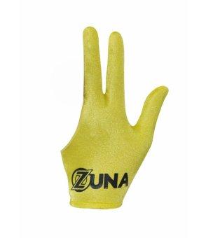Zuna Sport Unisex Basic Zuna Billiard Gloves Full Finger Yellow