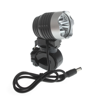 Zweihnder ME-09 3000lm 4-Mode 3xCree XM-L2 U2 Waterproof High Power Bike Light - Black (4 x 18650)