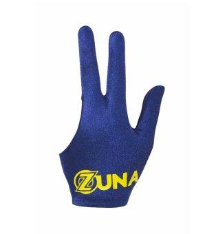 Zuna Sport Unisex Basic Zuna Billiard Gloves Full Finger Navy