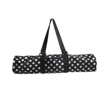 Harga Yoga tas tikar tahan air tas untuk membawa satu tas bahu (hitam dengan putih