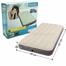 Intex 64707 Twin Durabeam Deluxe Single High Airbed / Kasur Angin Twin [191cm x 99cm]