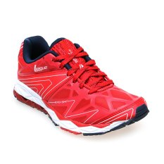 League Ghost Runner M Sepatu Lari Pria - High Risk Red-Black Iris-White