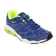 League Ghost Runner M Sepatu Running - Mazarine Blue-Volt-Putih