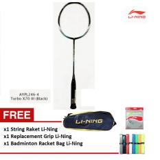 Li-Ning Badminton Racket Turbo X 70 III black
