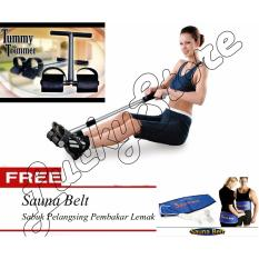 Lucky - Super Tummy trimmer Alat Olahraga Pengecil Perut + Gratis Sauna Belt - Sabuk Pelangsing / 1Pcs