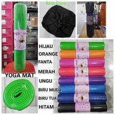 Matras Yoga / Yoga Mat Ukuran 61 x 173 x 6 mm - UNGU