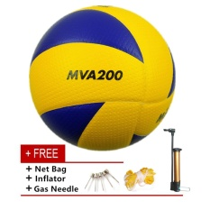 Mikasa MVA 200 Volleyball Soft PU Volley Ball - intl