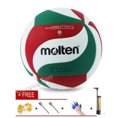 Molten Soft Touch Volleyball VSM4500 Size5 Match Quality Volley ball - intl