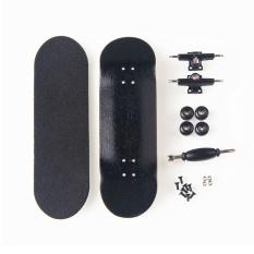 New Creative Finger Skateboard 8 Color Skate Child Finger Toys Professional Type Bearing Wheels Skid Pad Maple Wood Finger Skate - intl