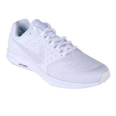 Nike Downshifter 7 Sepatu Lari - White/Pure Platinum