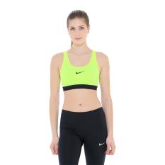 Nike Pro Classic Padded Bra - Yellow